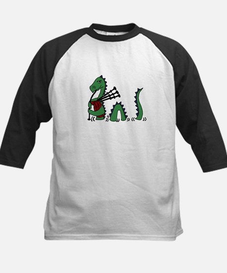 Loch Ness Monster Bagpipes Baseball Jersey
