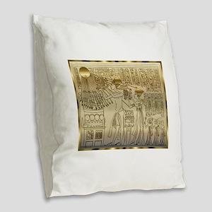 IMAGE68 Burlap Throw Pillow
