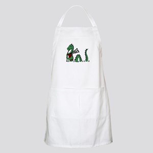 Loch Ness Monster Bagpipes Apron
