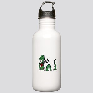 Loch Ness Monster Bagp Stainless Water Bottle 1.0L