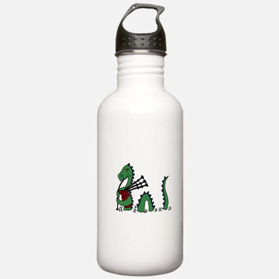 Loch Ness Monster Bagp Water Bottle