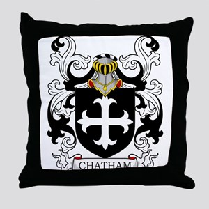 Chatham Coat of Arms Throw Pillow