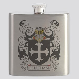 Chatham Coat of Arms Flask