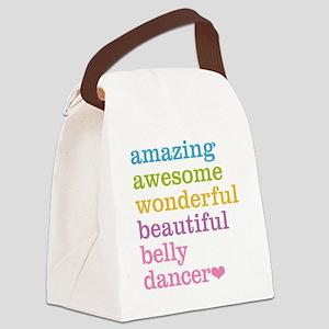 Belly Dancer Canvas Lunch Bag