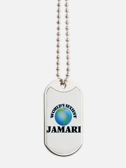 World's Sexiest Jamari Dog Tags