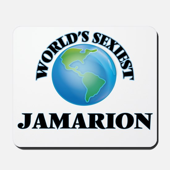 World's Sexiest Jamarion Mousepad
