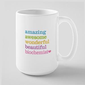 Amazing Biochemist Large Mug