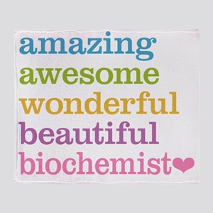 Amazing Biochemist Throw Blanket