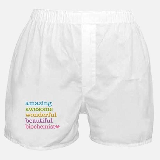 Amazing Biochemist Boxer Shorts