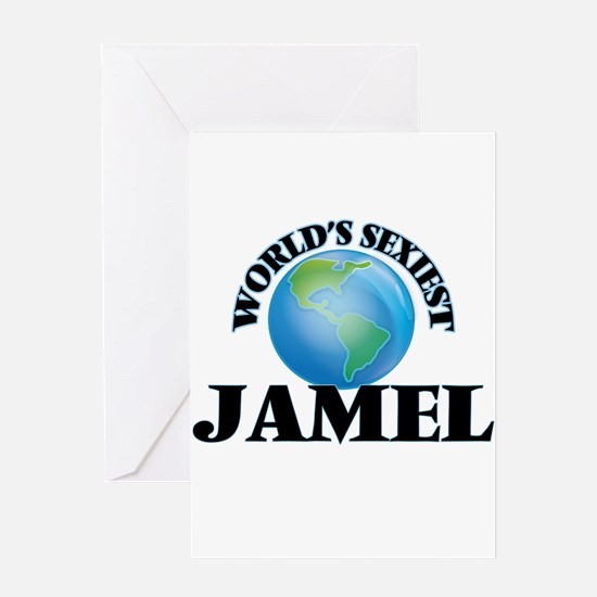 World's Sexiest Jamel Greeting Cards
