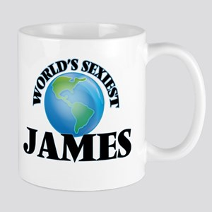 World's Sexiest James Mugs