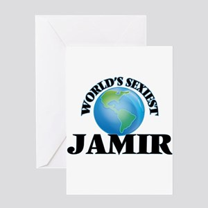 World's Sexiest Jamir Greeting Cards