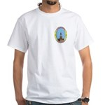 Pennsylvania Freemason p White T-Shirt