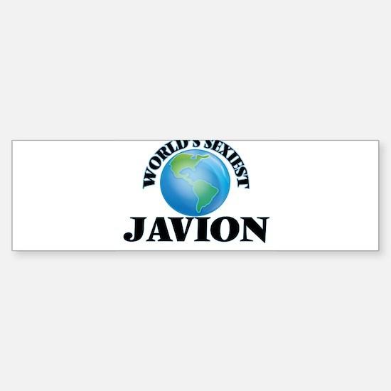 World's Sexiest Javion Bumper Bumper Bumper Sticker