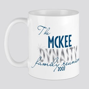 MCKEE dynasty Mug