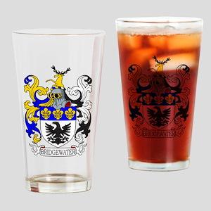 Bridgewater Coat of Arms Drinking Glass