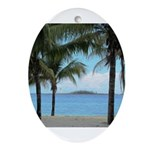 Nassau Bahamas Ornament (Oval)