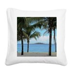 Nassau Bahamas Square Canvas Pillow