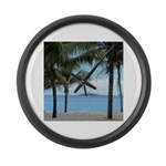 Nassau Bahamas Large Wall Clock