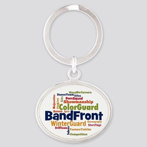 Bandfront Word Cloud Keychains