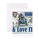 Ride & Love IT Greeting Cards