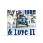 Ride & Love IT Postcards (Package of 8)