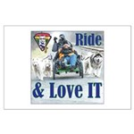 Ride & Love IT Posters