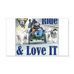 Ride & Love IT Wall Decal