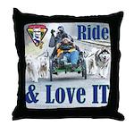Ride & Love IT Throw Pillow