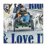 Ride & Love IT Tile Coaster