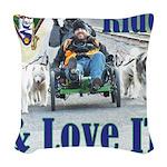 Ride & Love IT Woven Throw Pillow