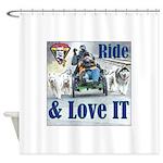 Ride & Love IT Shower Curtain