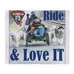 Ride & Love IT Throw Blanket