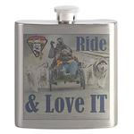 Ride & Love IT Flask