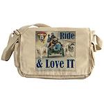 Ride & Love IT Messenger Bag