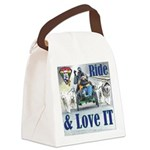 Ride & Love IT Canvas Lunch Bag