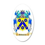 Goldstern 35x21 Oval Wall Decal