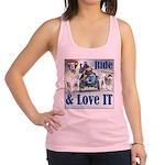 Ride & Love IT Racerback Tank Top