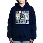 Ride & Love IT Women's Hooded Sweatshirt