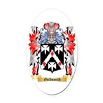 Goldsmith Oval Car Magnet