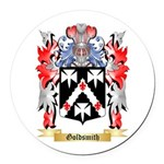 Goldsmith Round Car Magnet