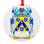 Goldschlager Round Ornament