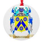 Goldschlaeger Round Ornament