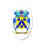 Goldschlaeger 20x12 Oval Wall Decal