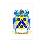 Goldschein Sticker (Rectangle 50 pk)