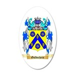 Goldschein 20x12 Oval Wall Decal