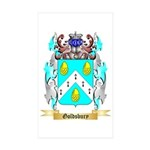 Goldsbury Sticker (Rectangle 10 pk)