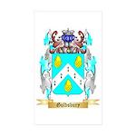 Goldsbury Sticker (Rectangle 50 pk)