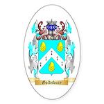 Goldsbury Sticker (Oval 50 pk)