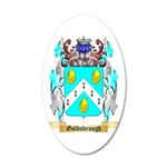 Goldsbrough 35x21 Oval Wall Decal